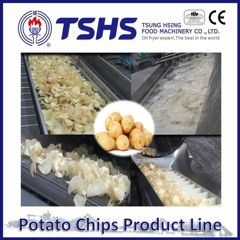 Made in Taiwan High Quality Mister Chips Frying Line