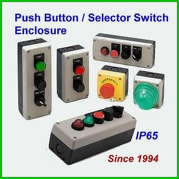 Taiwan Push Button Station Selector Switch Enclosure