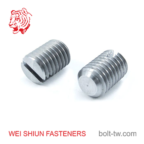 slot set screw-headless screw-no head screw