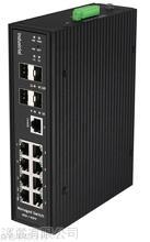8GE+4SFP  Managed DIN Rail Ethernet Switch