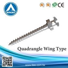 Quadrangle Wing Type (Anchorage Screws)