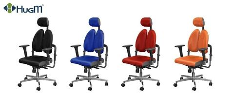 HugM Chair with PU foam Seat Cushion  and Duo Back TXPlus-01