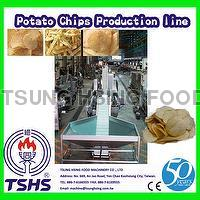 Hot Sale Continuous Professional Fresh Potato Crisp Processing Line
