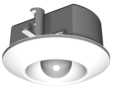 PIR sensor with 2 wire connect
