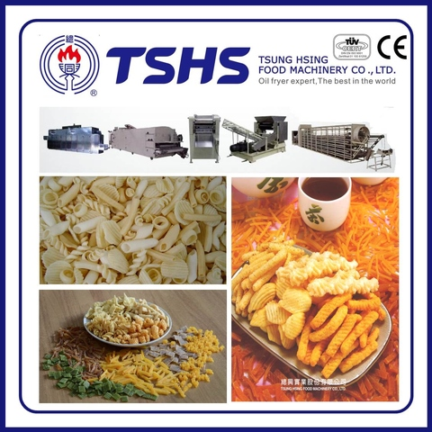 Professional Fried Pellet chips Processing Machine with CE approved