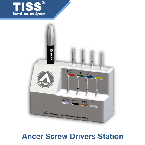 Ancer Dental Screw Drivers Station