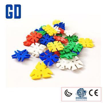 950 pcs 5 shape small flower