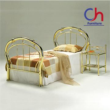 Professional sample new design metal single bed frame