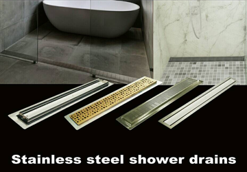 Stainless steel drain