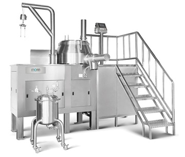 Super Mixer Granulator-Production Size