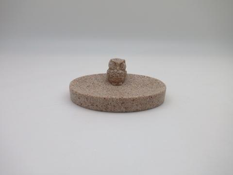 SANDSTONE OWL DESIGN BATH SETS