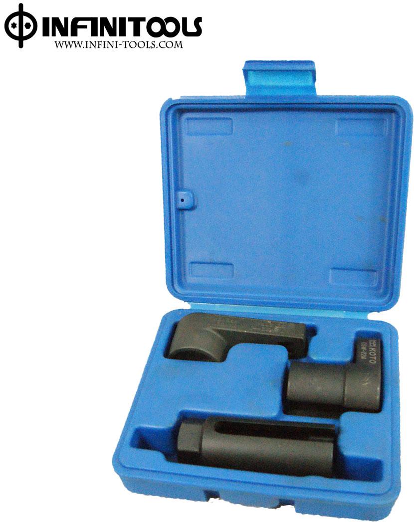 Taiwan Oxygen Sensor Socket Set ,3-piece ,3/8
