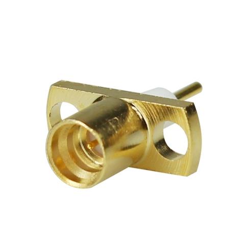 SMP P M 2 Hole Plug Receptacle