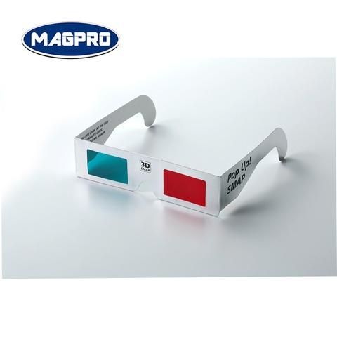 7c13cefd7de cardboard red blue 3d glasses with custom logo