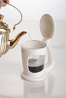 Coffee & Tea Maker,Thumbs Up Brewer(white)