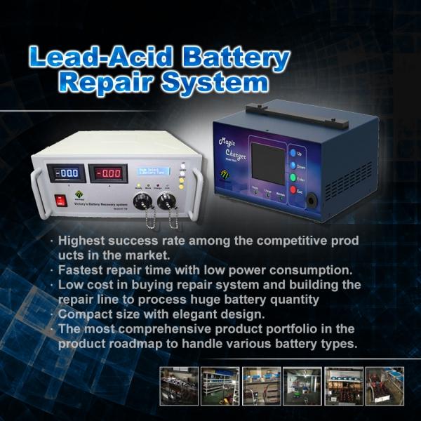 RAMBO Lead-acid Battery Repair Device