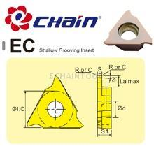 Shallow grooving Echain insert with brilliant effect EC insert