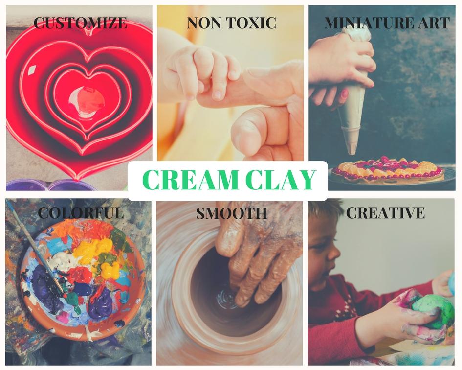 Cream Clay