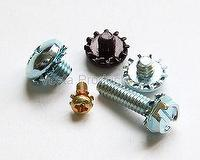 Sems, Screws & Washers Assembly, Screws & External Tooth Washer Asembly