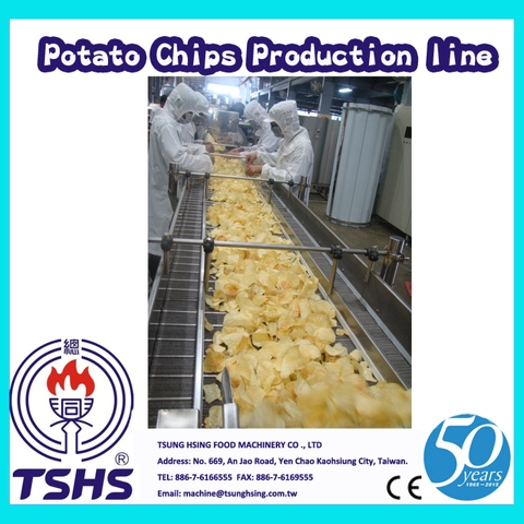 Hot Selling Industrie Integral Brittle Potato Chips Supplier