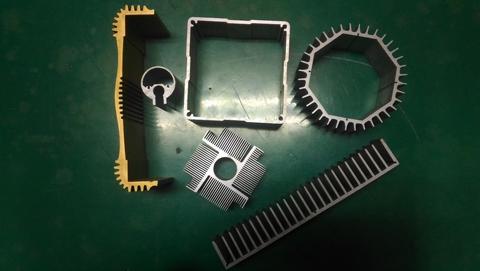 鋁合金擠型零件