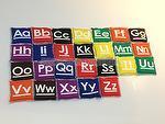 Bean Bag - Alphabet  Set