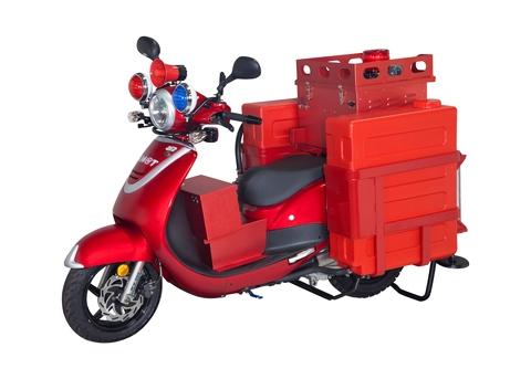消防摩托車,消防機車,消防裝置,消防車