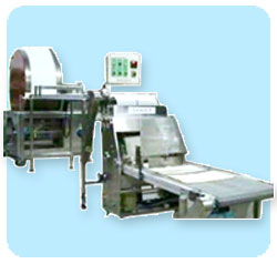 Automatic Single-Roller Dual Lines Spring Roll Skin Making Machine