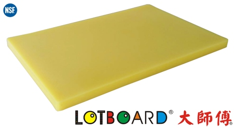 NSF Certified Commercial HDPE Antimicrobial Cutting Board