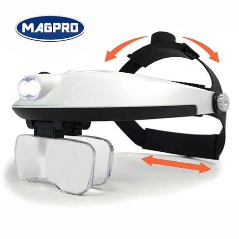Adjustable Magnifier, Eyelashes Extension LED Light