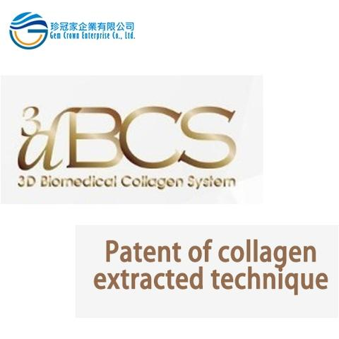 Patent of collagen extracted technique