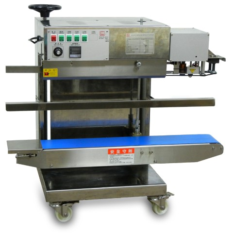 User-Friendly Continuous Vertical Band Sealing Machine