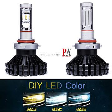 Taiwan PA New Design H10 9005 9006 DRL fog lamp Automotive