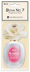 Bova No. 7 Fragrance Card-Blossom