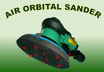 "6"" CENTRAL VACUUM ORBITAL SANDER"
