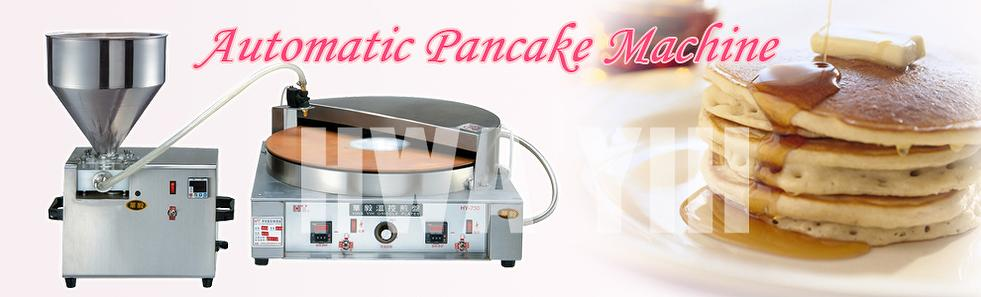 Automatic pancake dorayaki baking machine