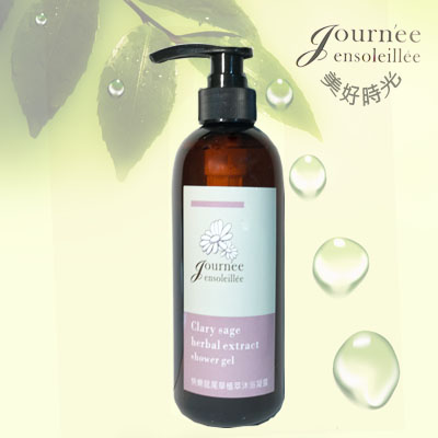 Clary sage extract,best moisturizing body wash shower gel