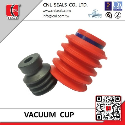 Rubber Suction Cup Multi-bellow  type