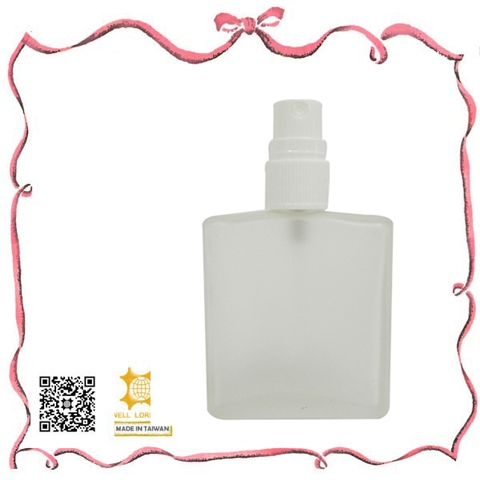 Taiwan High quality plastic new launch square perfume spray