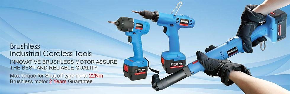 SUMAKE Cordless Tool Brushless INDUSTRIAL 22NM