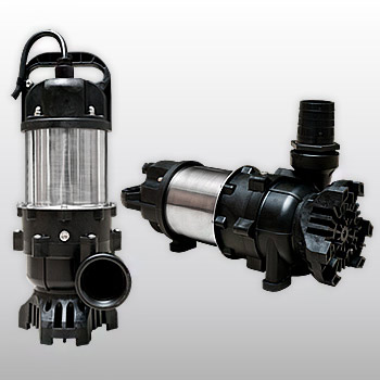 Horizontal & Vertical Fountain Pumps