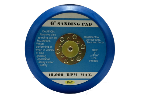 FST-206T Professional High Quality Air Random Orbital Sander Sanding Disc Pad Thick Type 6 inch 152mm