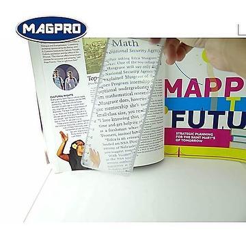 Magnifying Ruler  For Bookmarking