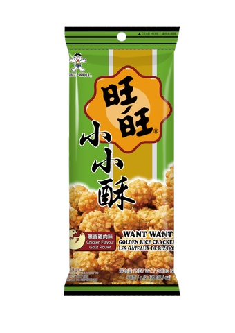 Want Want Golden Rice Cracker (OEM) - chicken 60g