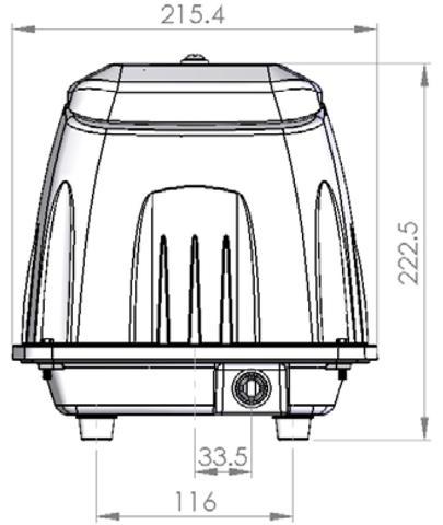 DBMX80 Medium Capacity Linear Air Pump