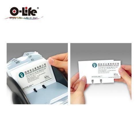 Rotary Plastic Card Holder