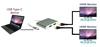 USB Type-C to 2 Port HDMI Adapter/Splitter