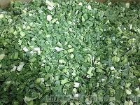 Frozen Green Onion Cuts - Frozen Scallion Cuts, Welsh onion, bunching onion, shallot