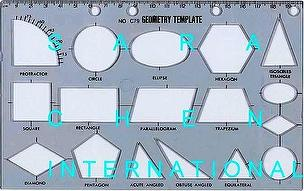 geometry template drawing stencil news on taiwantrade com
