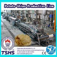 Stainless Steel Large Scale Fried Sweet Cassava Chips Supplier